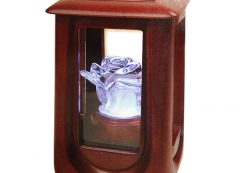 Crystal & Rose Keepsake Urn
