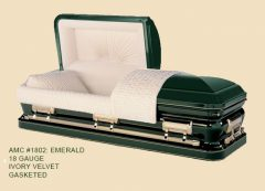 1802-emerald-green-18-gauge-gasketed-casket