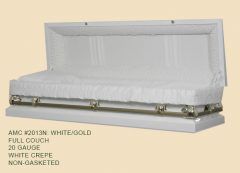 2013-white-20-gauge-non-gasketed-full-casket